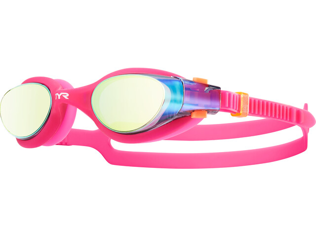 TYR Vesi Goggles Mirrored Women, gold/pink